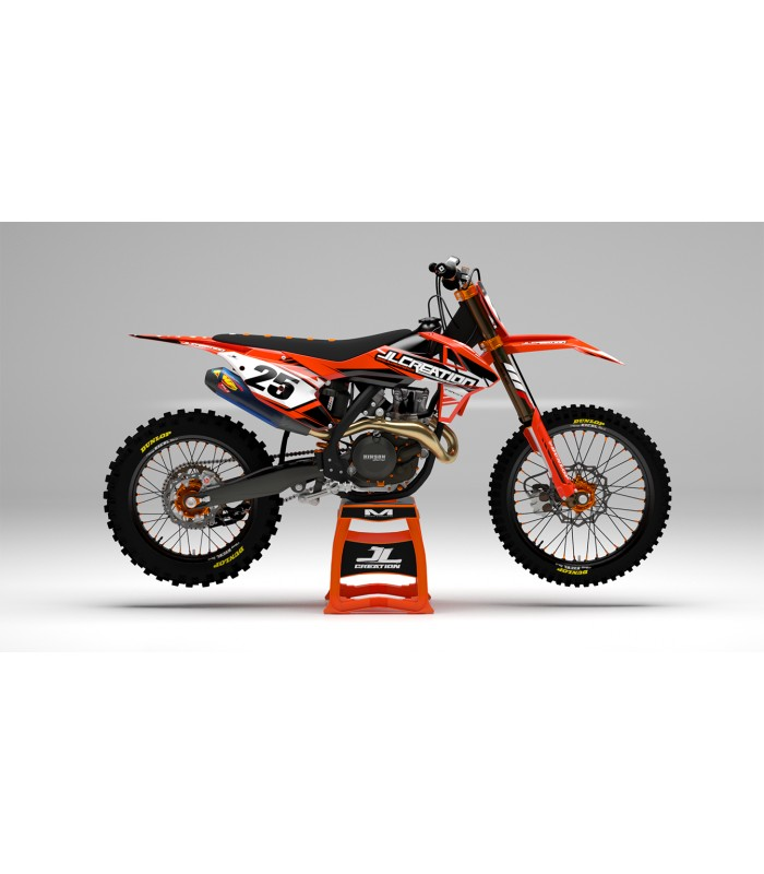 kit déco Volt série ktm orange